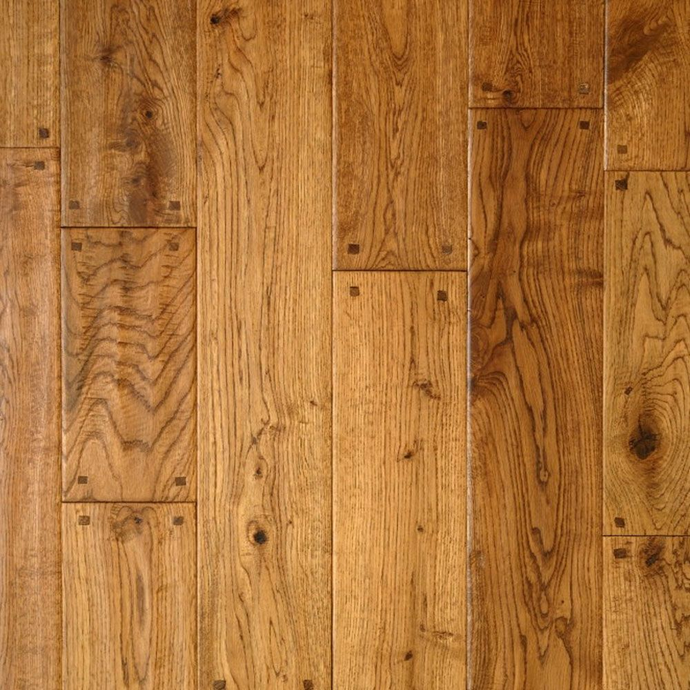 135mm Antique End Pegged Golden Oak Bausen Solid Flooring Fsc Golden Oak Solid Hardwood Floors Solid Wood Flooring