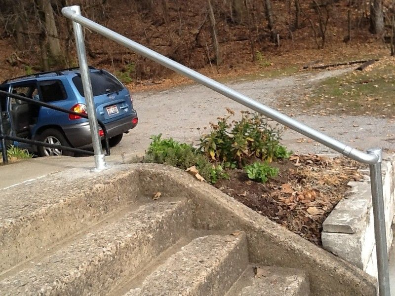Best Surface 567 Surface Mount Railing C Outdoor Stair 400 x 300