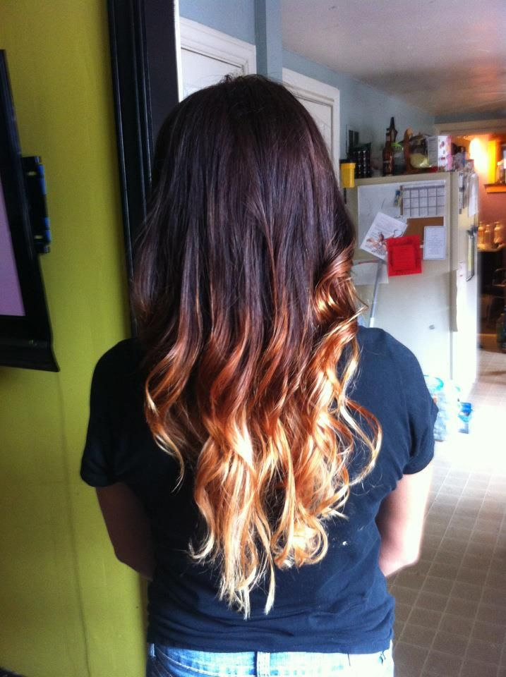https://www.facebook.com/pages/Rockin-Rollers/176247432429749  Ombre by Rachel Thomas of Rockin' Rollers! #ombre #hair #highlight