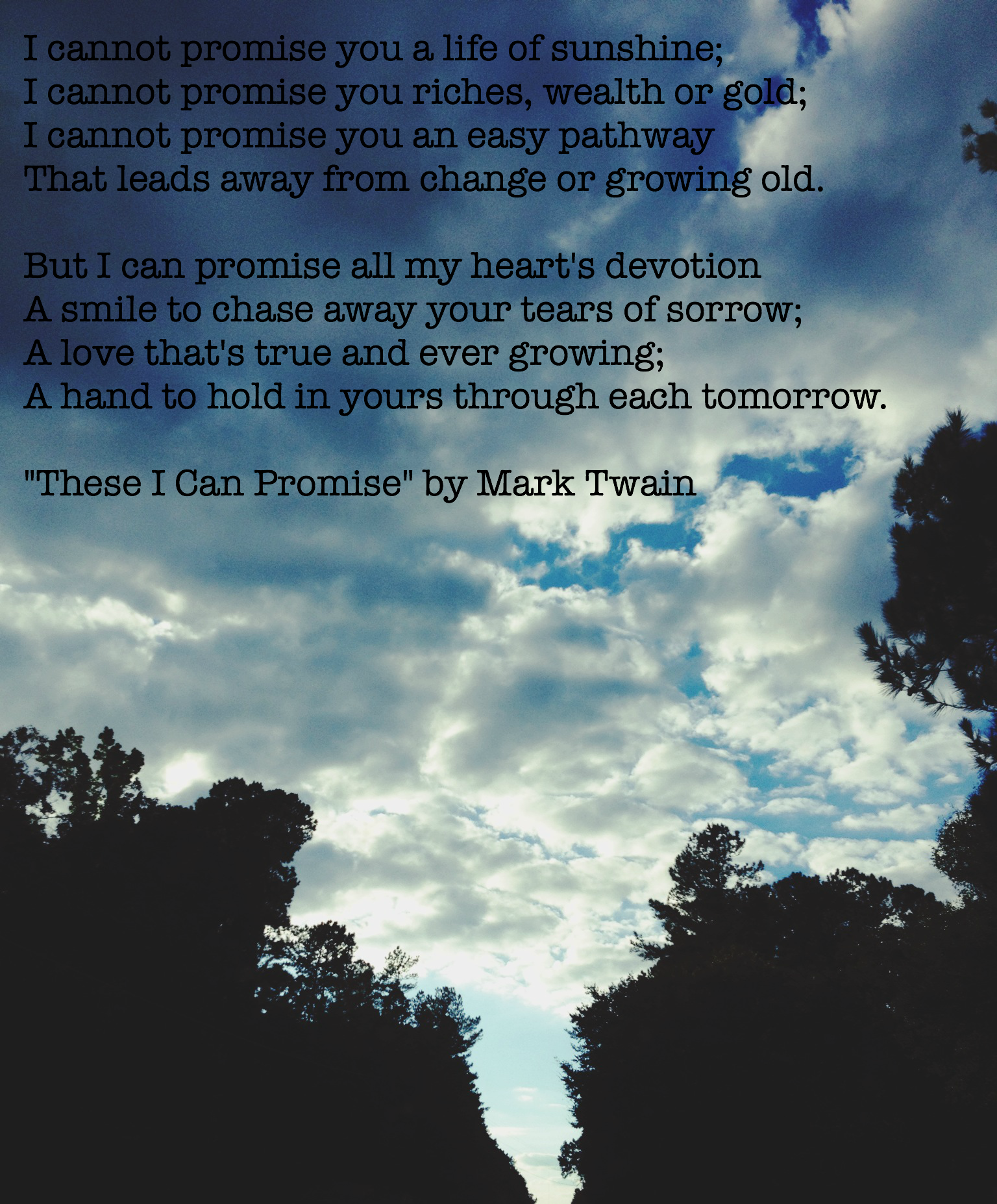 these i can promise mark twain wedding readings pinterest