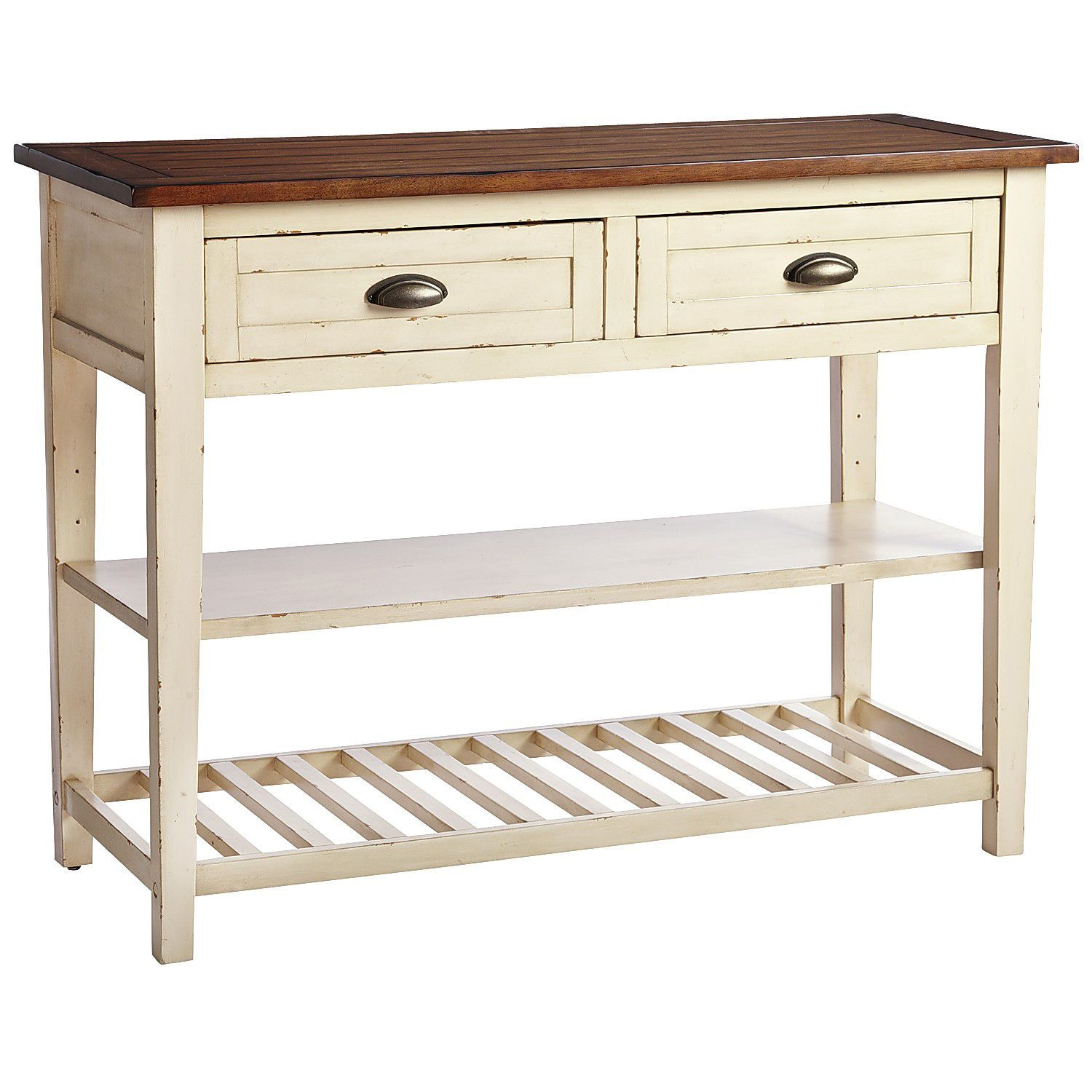 carmichael antique ivory buffet table homes decor farmhouse rh pinterest com