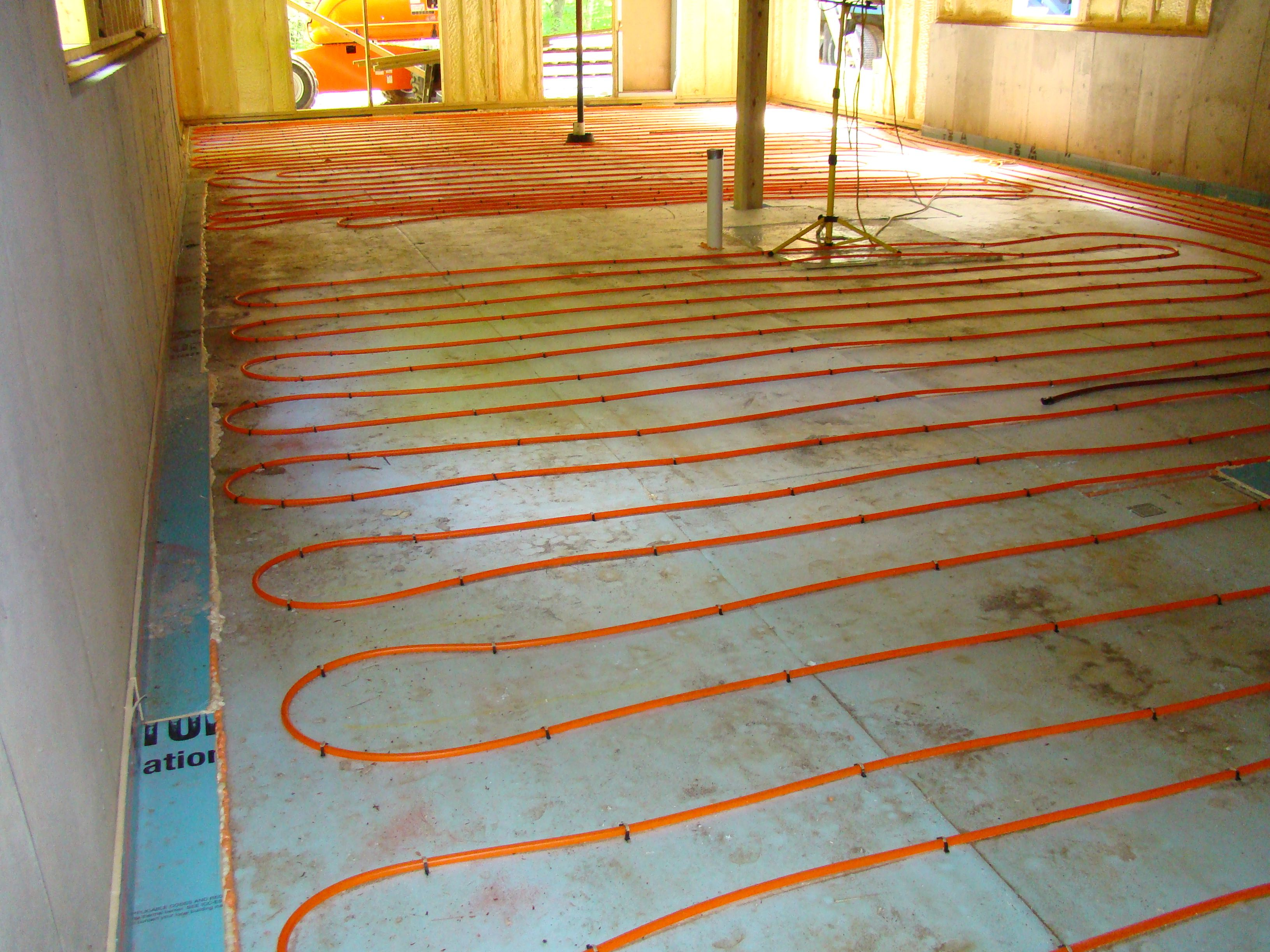 There 39 s no place like home tip 5 consider radiant heat for Electric heating systems homes