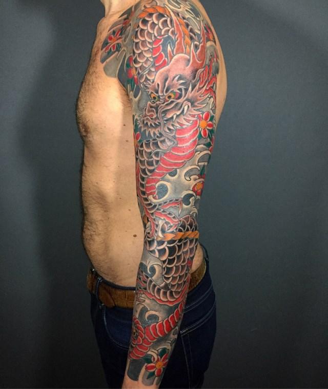 Michele In 2020 Cloak And Dagger Tattoo Tattoo Styles Tattoos