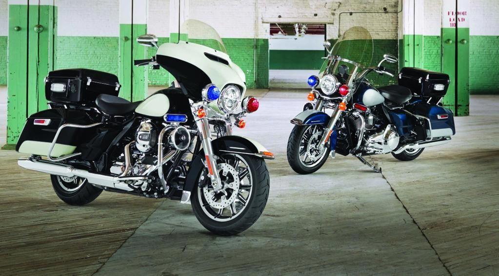 Harley davidson police motorcycles