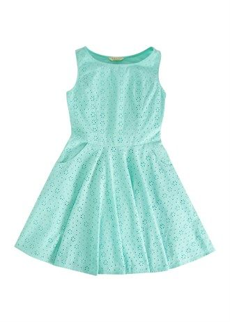 Girls Candy Couture Lace Skater Dress