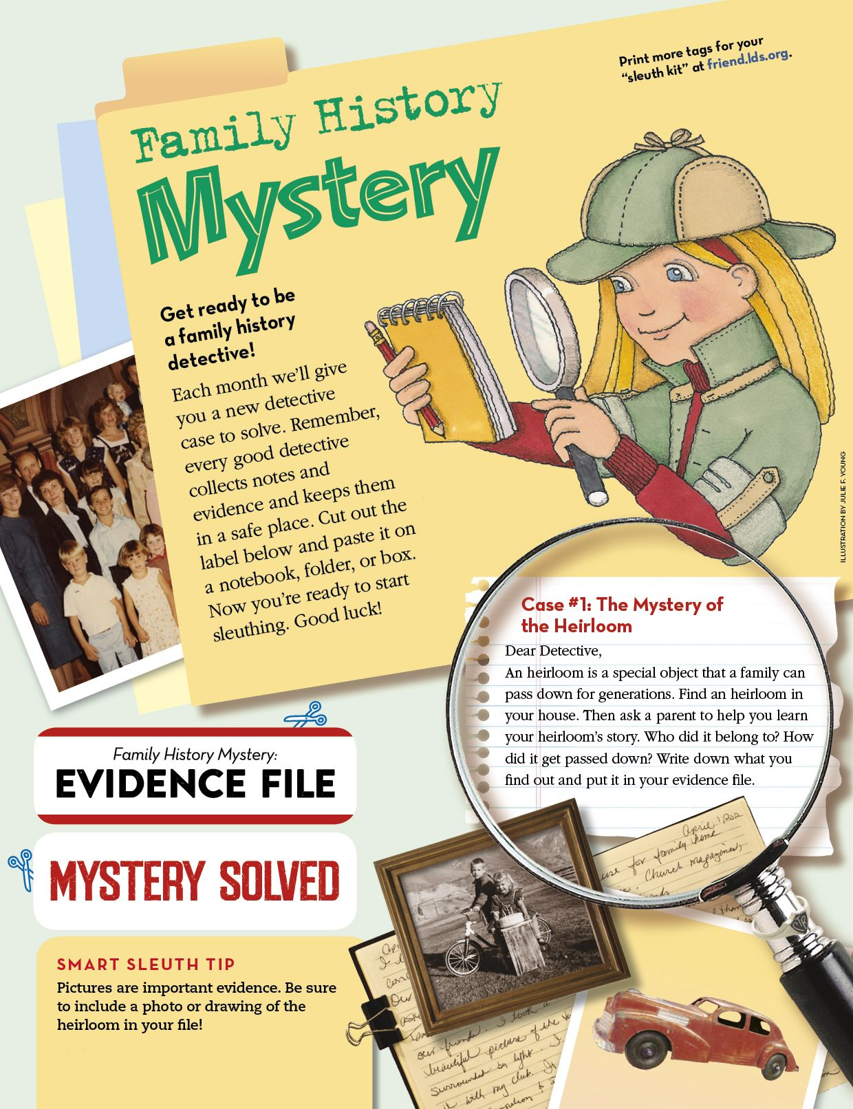 Check Out This Fun Family History Mystery Activity