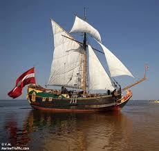 latvia sailing ship libava - Google Search A genuine replica of a 17th.Century sailing ship Libava.