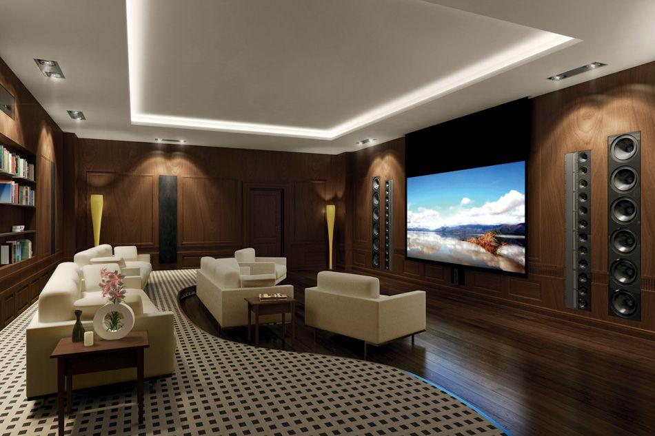 15 Simple Elegant And Affordable Home Cinema Room Ideas