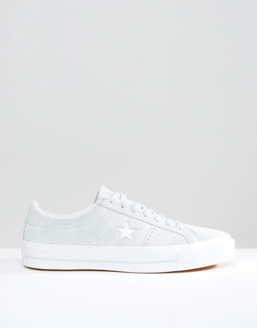 Converse | Converse One Star Trainers In Blue 153963C-450 at ASOS