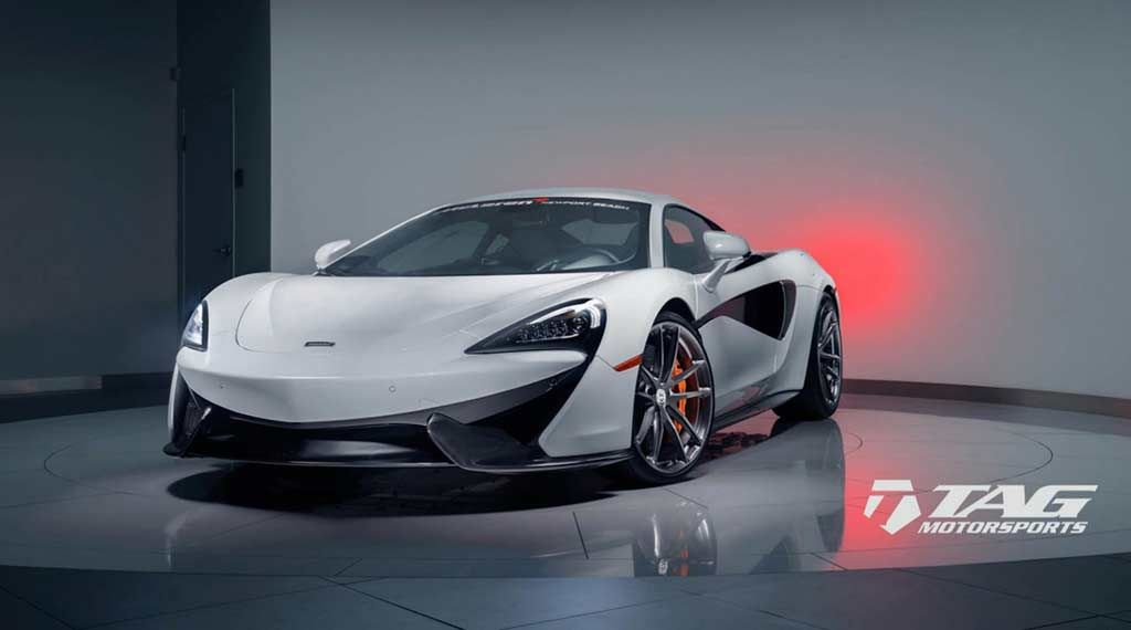 Mclaren Flaunts Custom Wheels Custom Wheels Wheels And