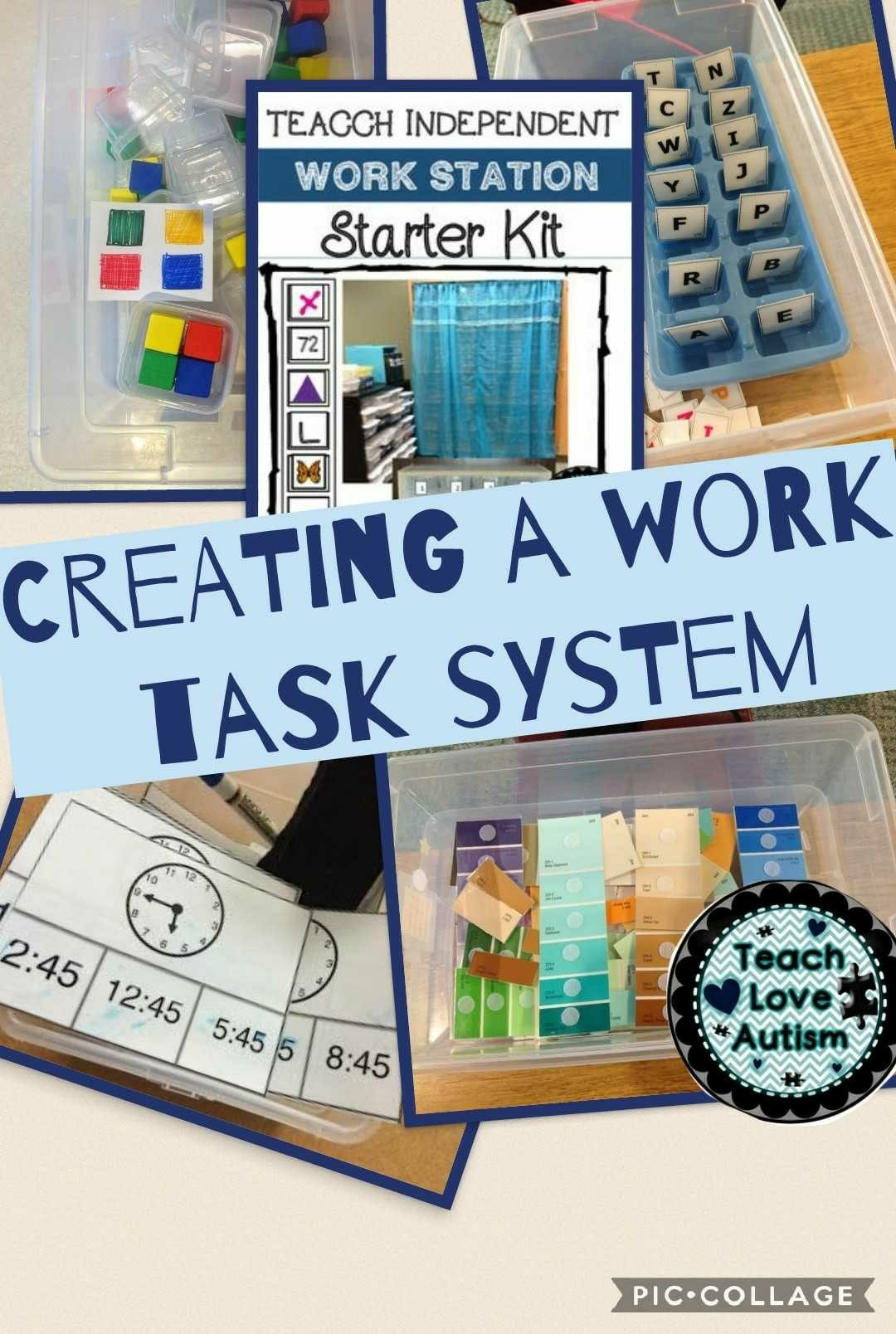 Creating A Work Task System In Your Classroom Is Not As