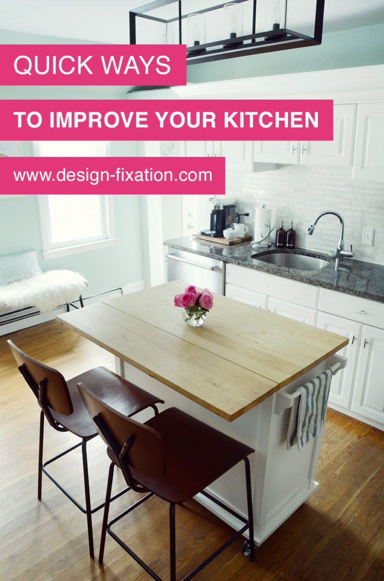 Ways To Quickly Improve Your Kitchen galley kitchen remodel