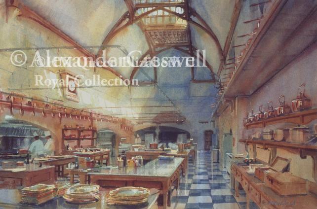 Windsor Castle, The Royal Kitchen Restored | Alexander Creswell