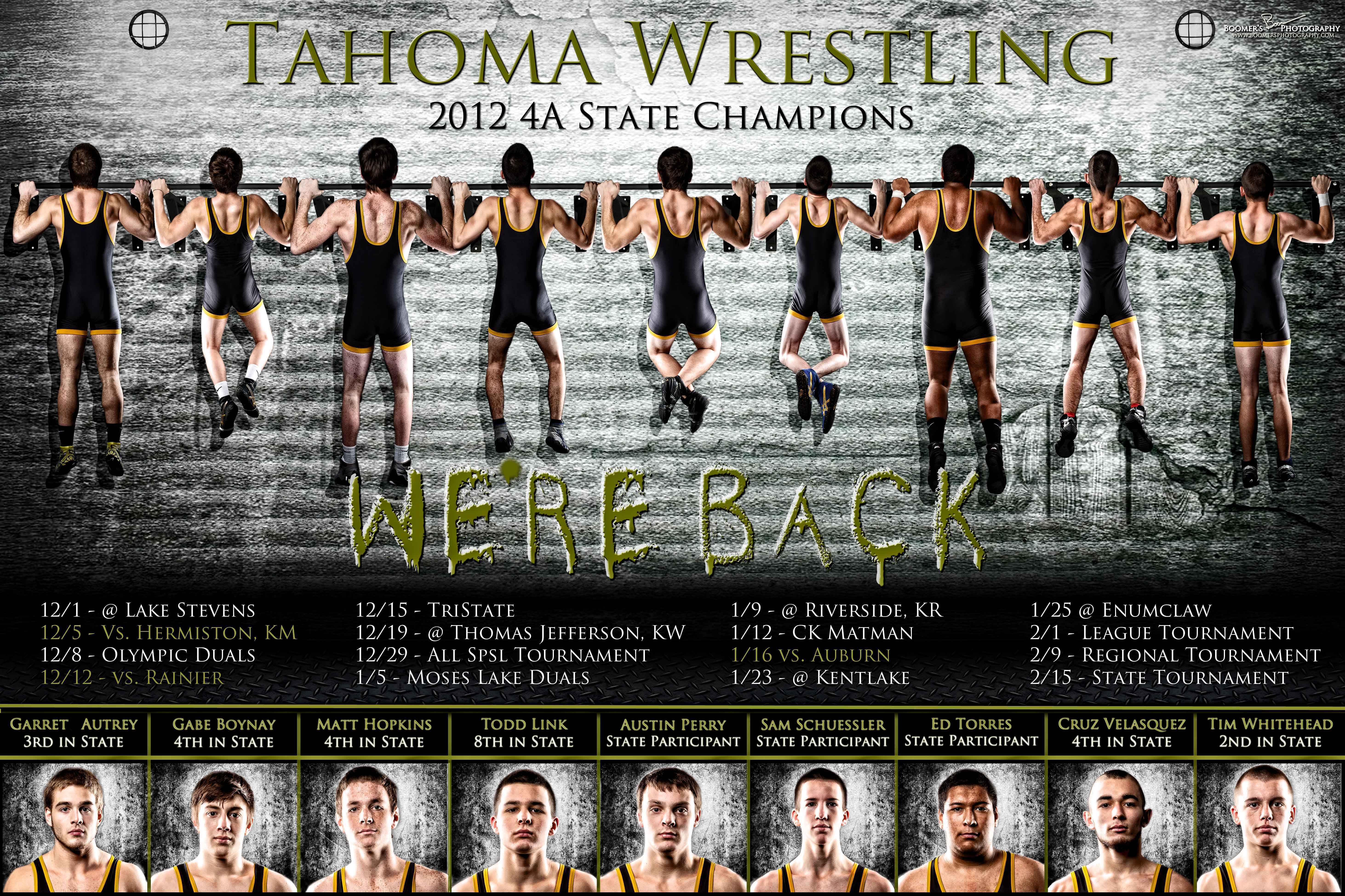 Wrestling Team Posters Boomer S Photography Wrestling Team Team Poster Ideas Wrestling Posters