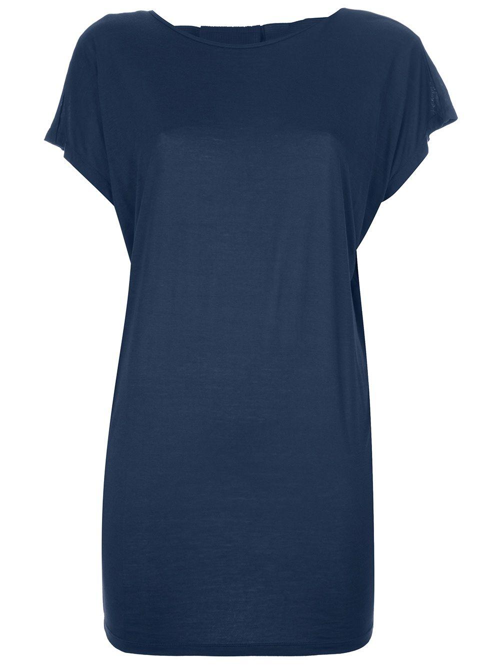 LANVIN - Camiseta azul. 6