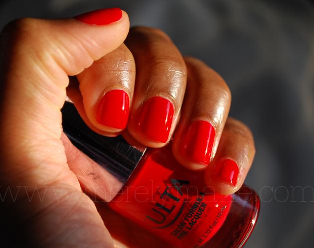 Ulta Salon Lacquer Let The Flames Begin Pro Nails Pinterest