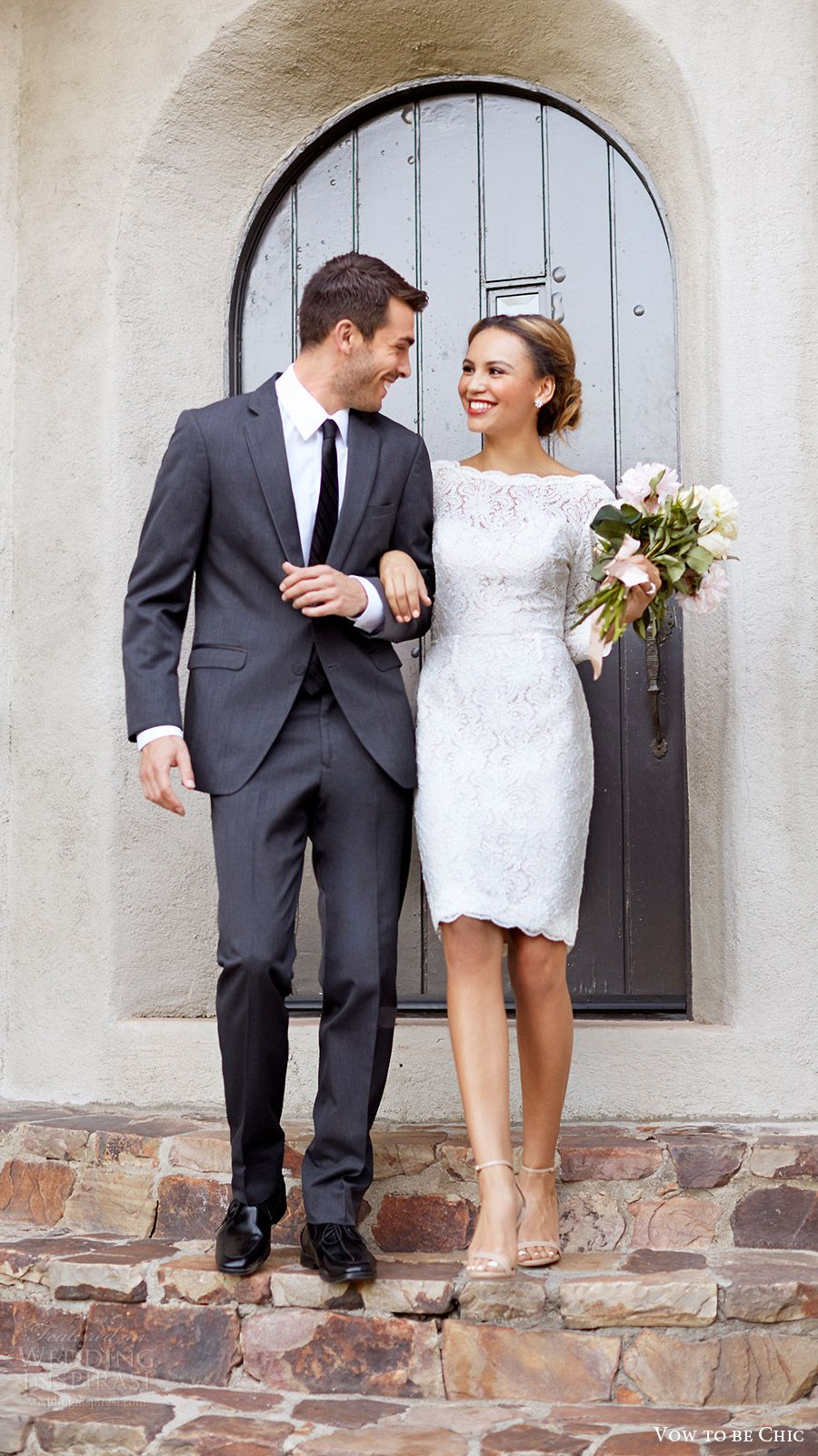 Little white wedding dress  Bridesmaid Trend Report  u featuring Vow To Be Chic Designer