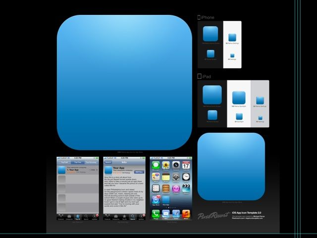 If You're An iOS Developer, You Need This App Icon Template