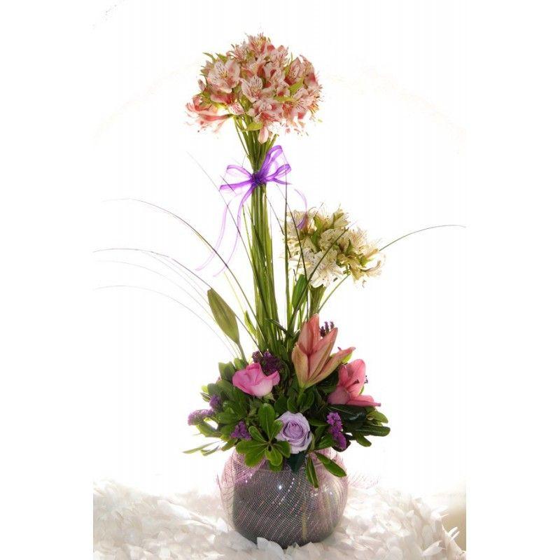 ARREGLOS FLORALES CON ATADOS - Buscar con Google diseño floral