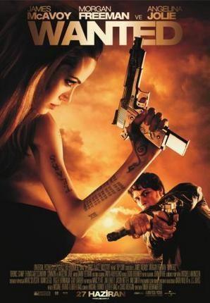 Wanted Movie Poster Standup 4inx6in Filmes De Acao Dublado