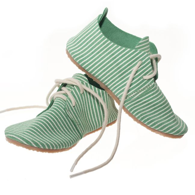 striped shoes from Zuzii via blog giveaway from Oh Joy Studio