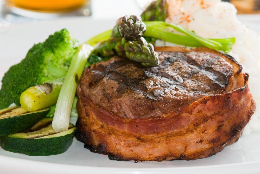 Filete Mignon Envuelto En Tocino Recipe Bacon Wrapped