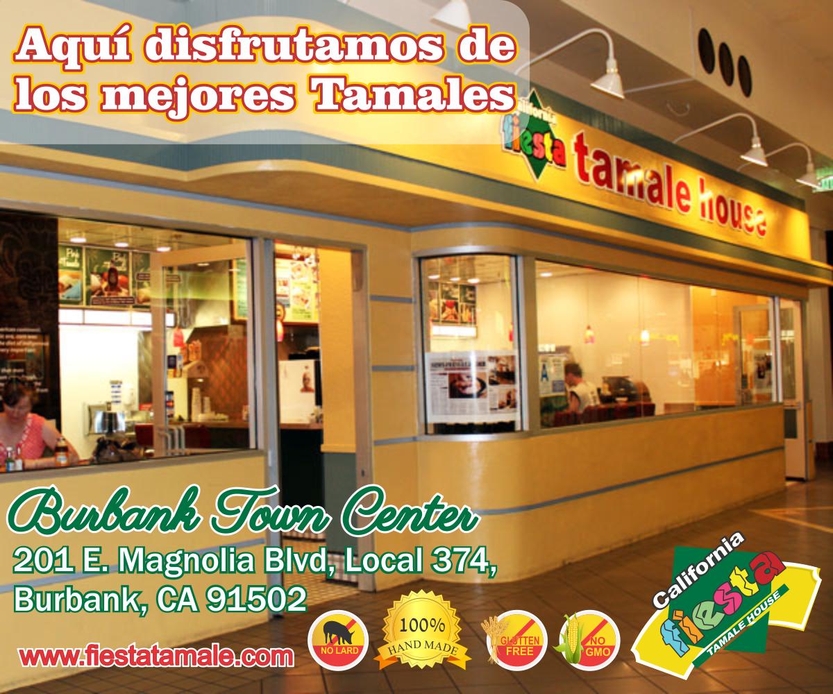 Esto es Fiesta Tamale House! En nuestro restaurante servimos los mejores Tamales de la Zona  y ni que decir de nuestra variedad de combinaciones! Ven y disfruta de Cualquiera de ellos y pasa un buen rato en tu casa  Fiesta Tamale House! Te esperamos en Burbank Town Center y/o en línea en www.fiestatamale.com
