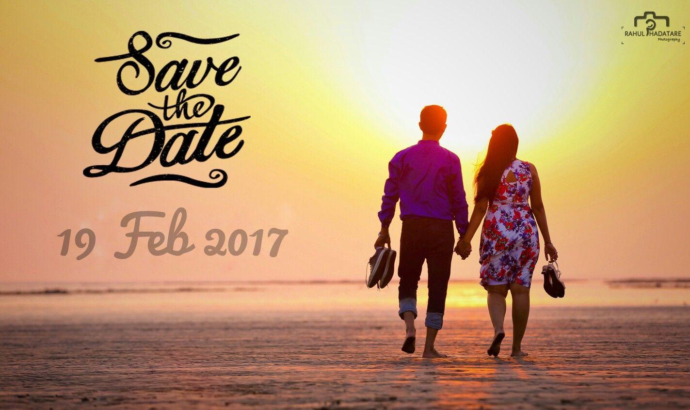 Save The Date Pre Wedding Shoot Couple Love Hug Sunset Beach With