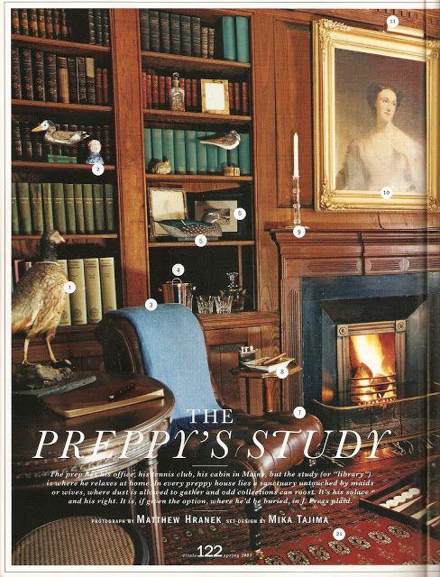 Alex Grant: Archives: The Vitals Preppy Guidebook