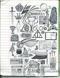 Bildergebnis Fur Harry Potter Figuren Zeichnen Harry Potter Selber Machen Zeichnen Kritzeleien