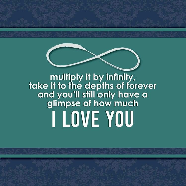 Infinity Quotes To My Boyfriendi Love You  Infinity Everything Q  Pinterest