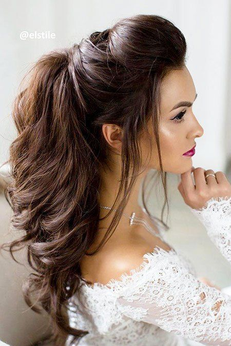 15 Easy Hairstyles For Long Thick Hair Longhairdontcare Thickhair Thickhairstyles Hair Styles Medium Hair Styles Wedding Hair And Makeup