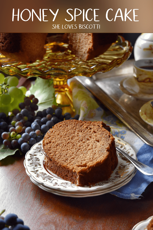 This Super Moist Honey Spice Cake Recipe fills your whole kitchen with a sweet aroma -you will definitely want to make it again and again. #honeycake #easycake #moistcake #spicecake #jewishnewyear #roshhashana #honeycake