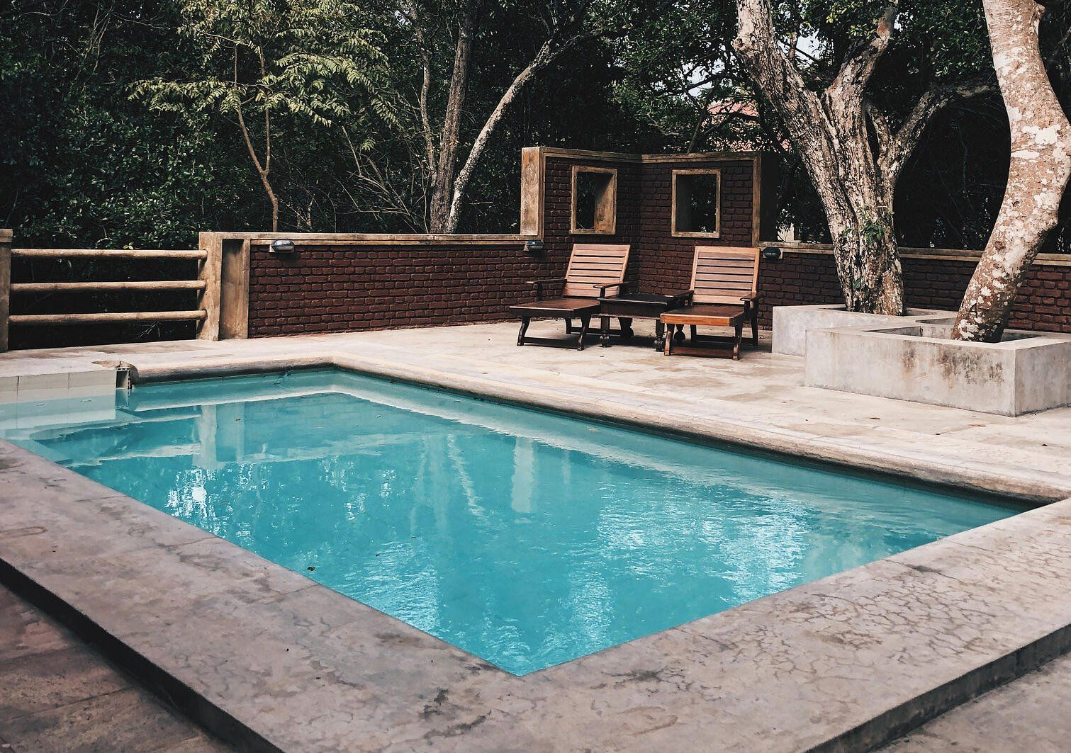 What Is A Cocktail Pool Designs Dimensions Cost And More In 2020 Backyard Pool Cost Small Pool Design Pool Cost