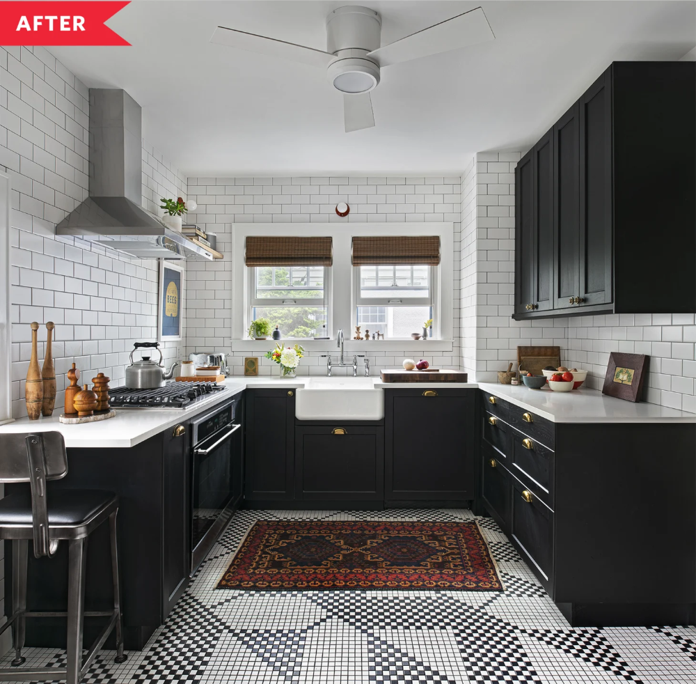 Before and After This Kitchen's Whole Remodel Is Great