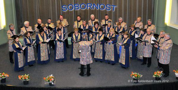 Sobornost Slavisch Byzantijns koor