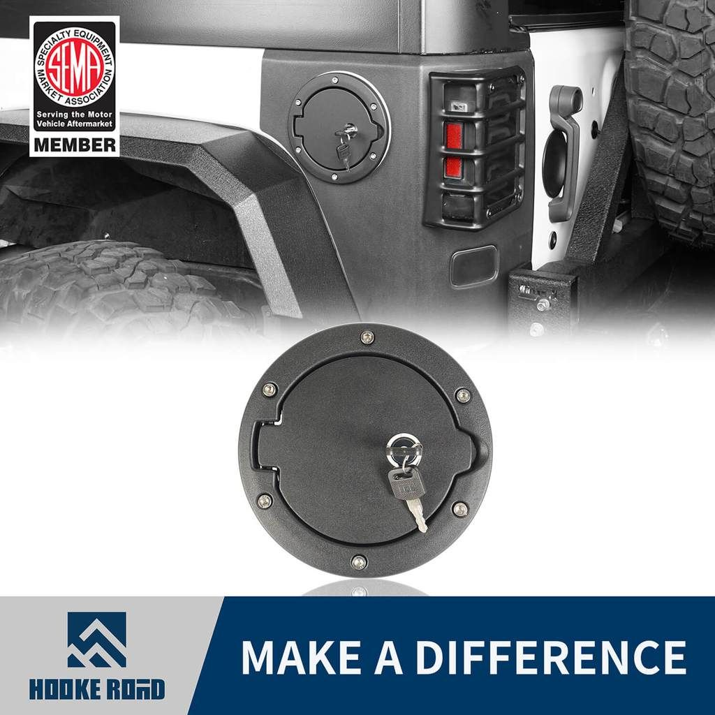 Pin On Jeep Wrangler Gas Cap Cover