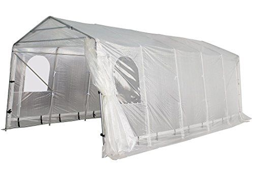 Peaktop 20u0027x10u0027 Heavy Duty Portable Carport Garage Car Shelter Canopy Party Tent Sidewall with 5-Room Design Style u2013 Outdoor Supplies  sc 1 st  Pinterest & Peaktop 20u0027x10u0027 Heavy Duty Portable Carport Garage Car Shelter ...