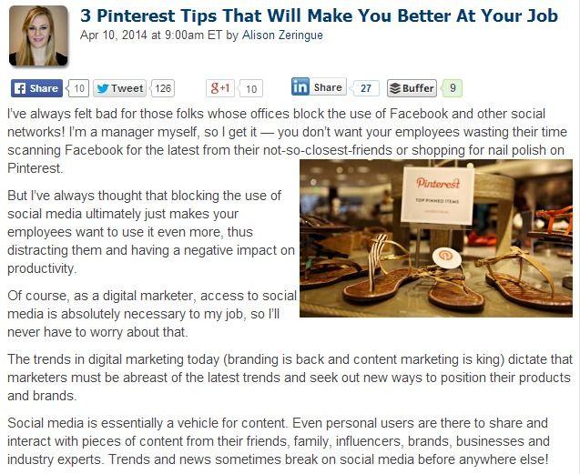 3 Pinterest Tips That Will Make You a Better Marketer