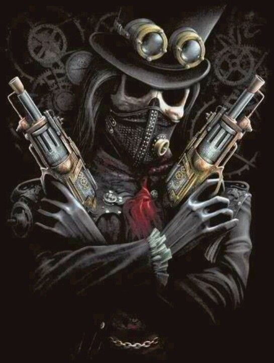 Steampunk Bandit Spiral Direct Dark art in 2019
