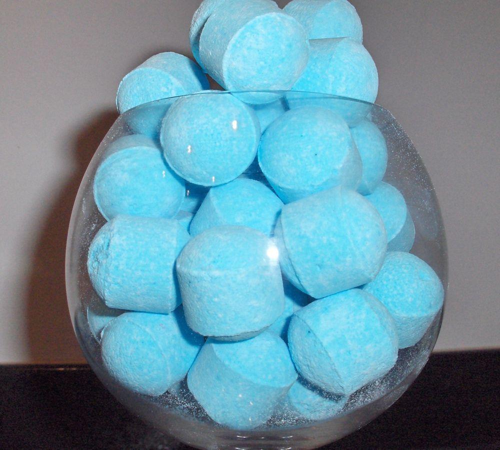 10 Bath Bombs Lavender BLUE Foot Soak Bathing Wedding baby shower ...