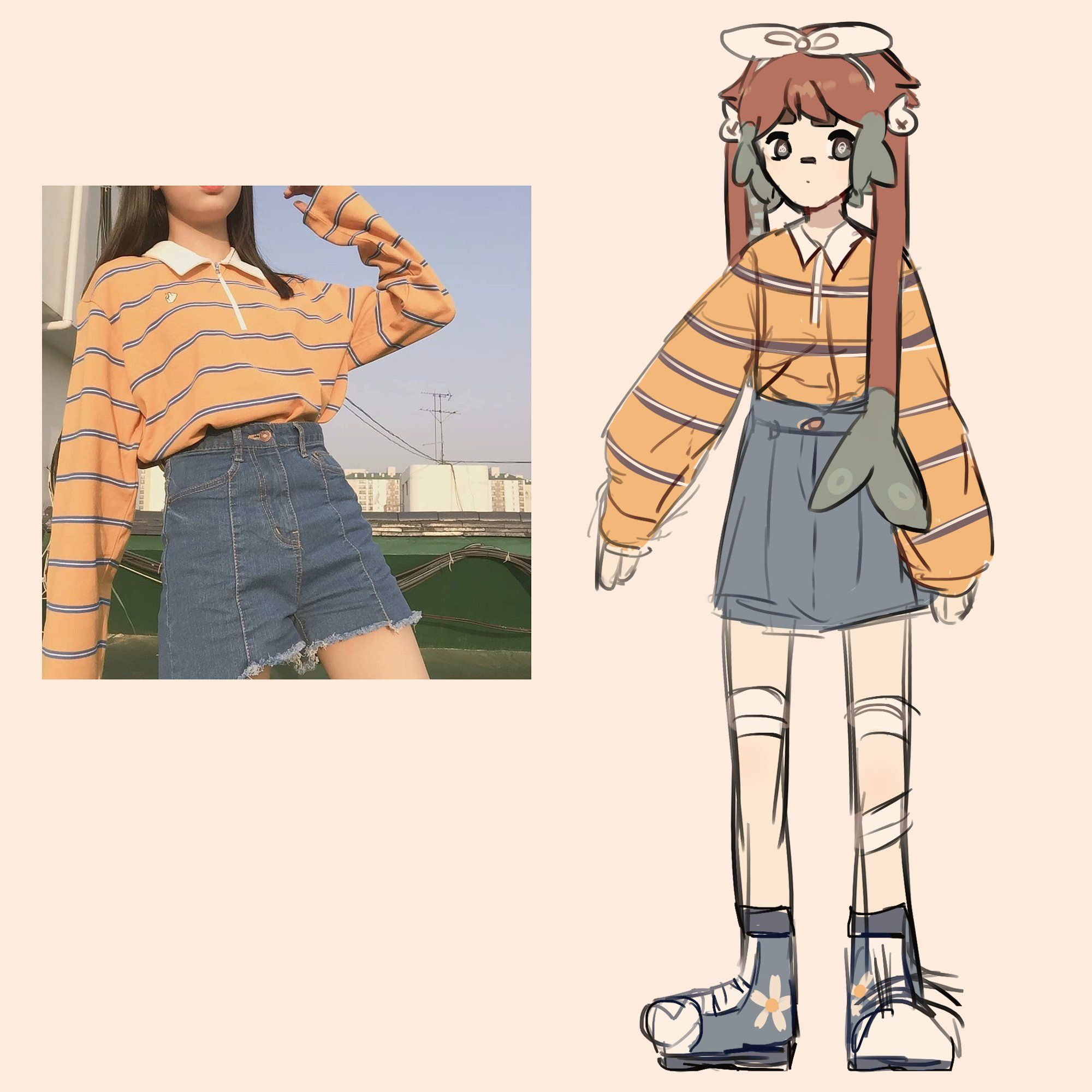 Miren A La Artista En Twitter Chokoreetou In 2021 Art Clothes Fashion Design Drawings Drawing Anime Clothes