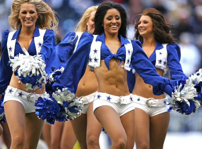 dallas cowboy cheerleaders dating players
