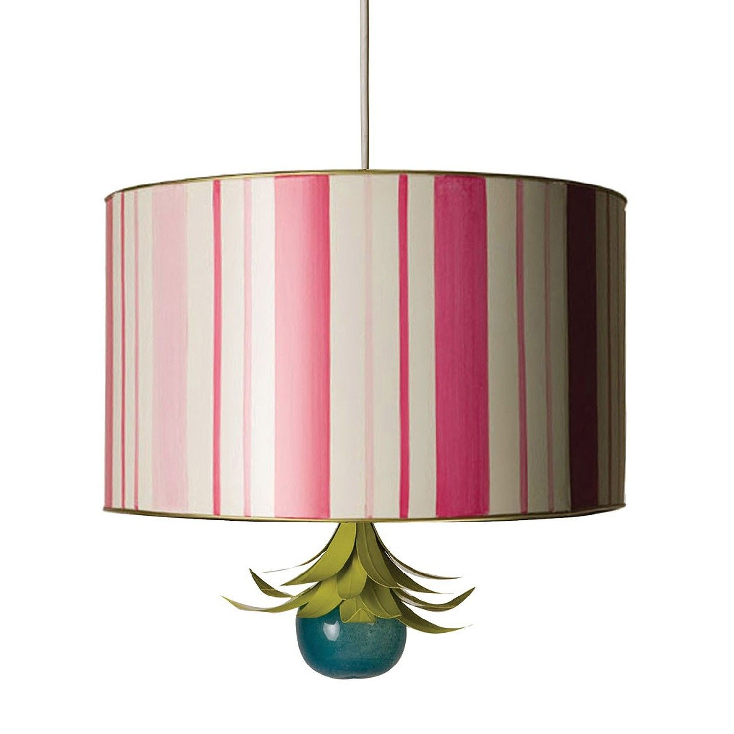 A Glamorous Pendant With A Dazzling Frou Frou Finial The Shade Is Handcrafted Hand Painted Tole The Adorabl With Images Drum Shade Coastal Pendant Lighting Drum Pendant
