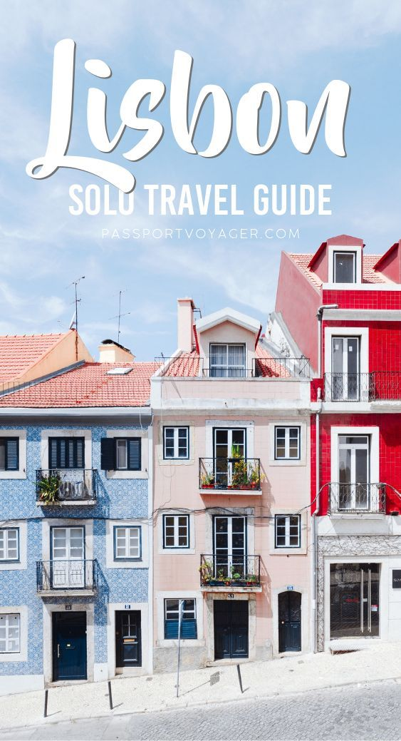 Heading to Portugal on your own and looking for some fun things to do? This Lisbon solo travel guide is exactly what you need to help plan your trip! #portugal #lisbon #travel #solotravel #visitportugal