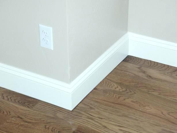 Contemporary Baseboard Molding Ideas Trim House Modern Simple Interior Door Designs