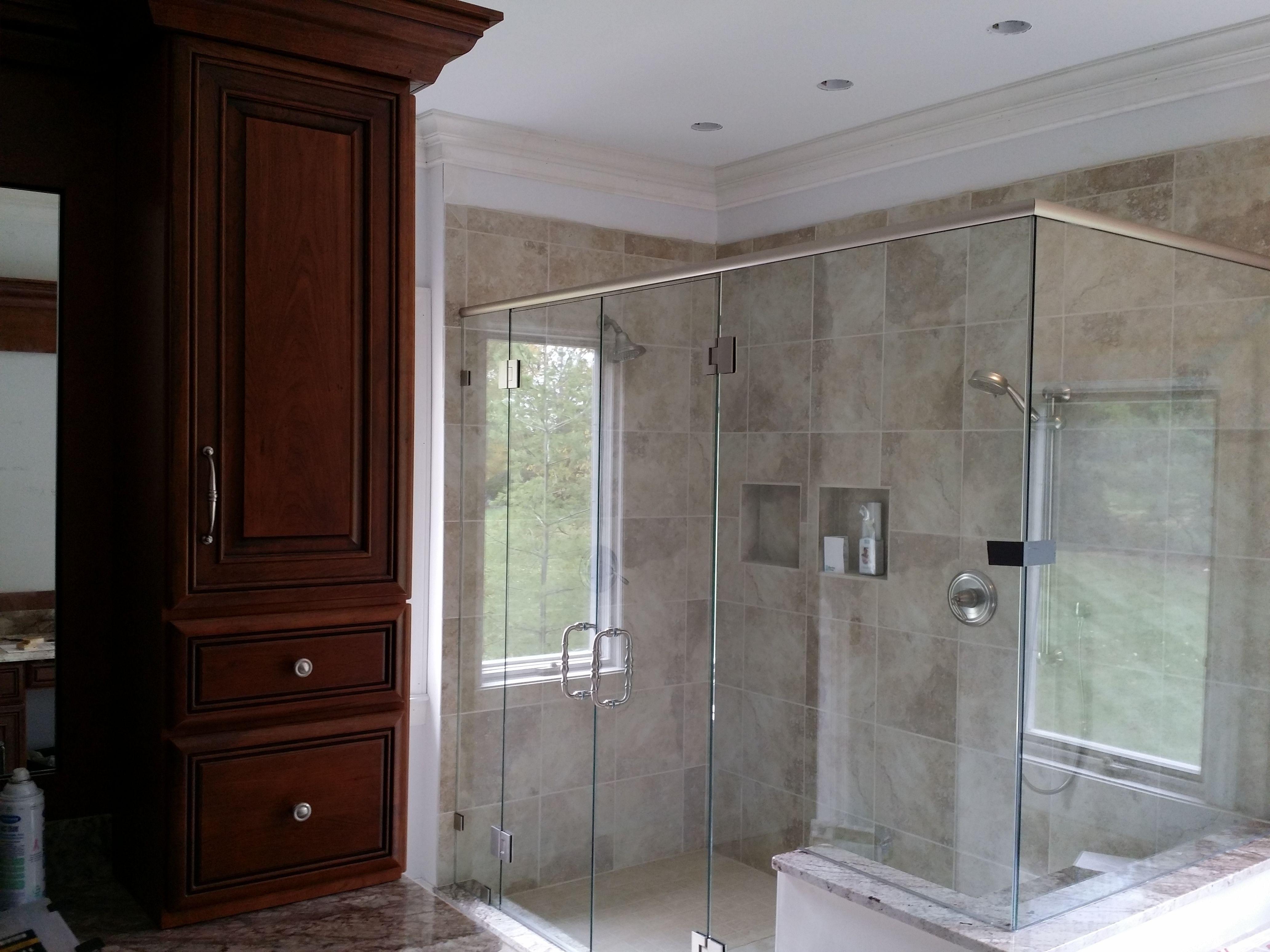 Fameless European Shower Glass Enclosure Doors Screens In