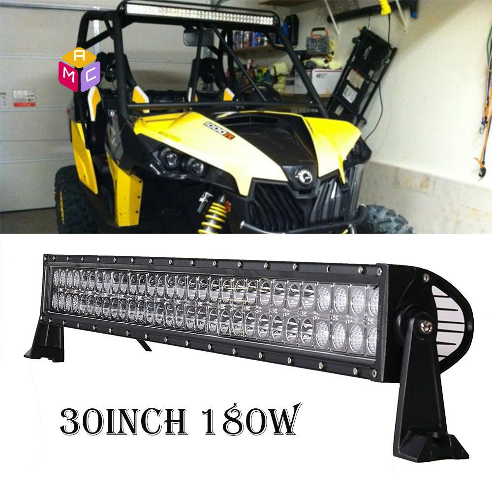 30in led light yamaha rhino 700 660 can am commander maverick 30in led light yamaha rhino 700 660 can am commander maverick wildcat side by rv mozeypictures Gallery