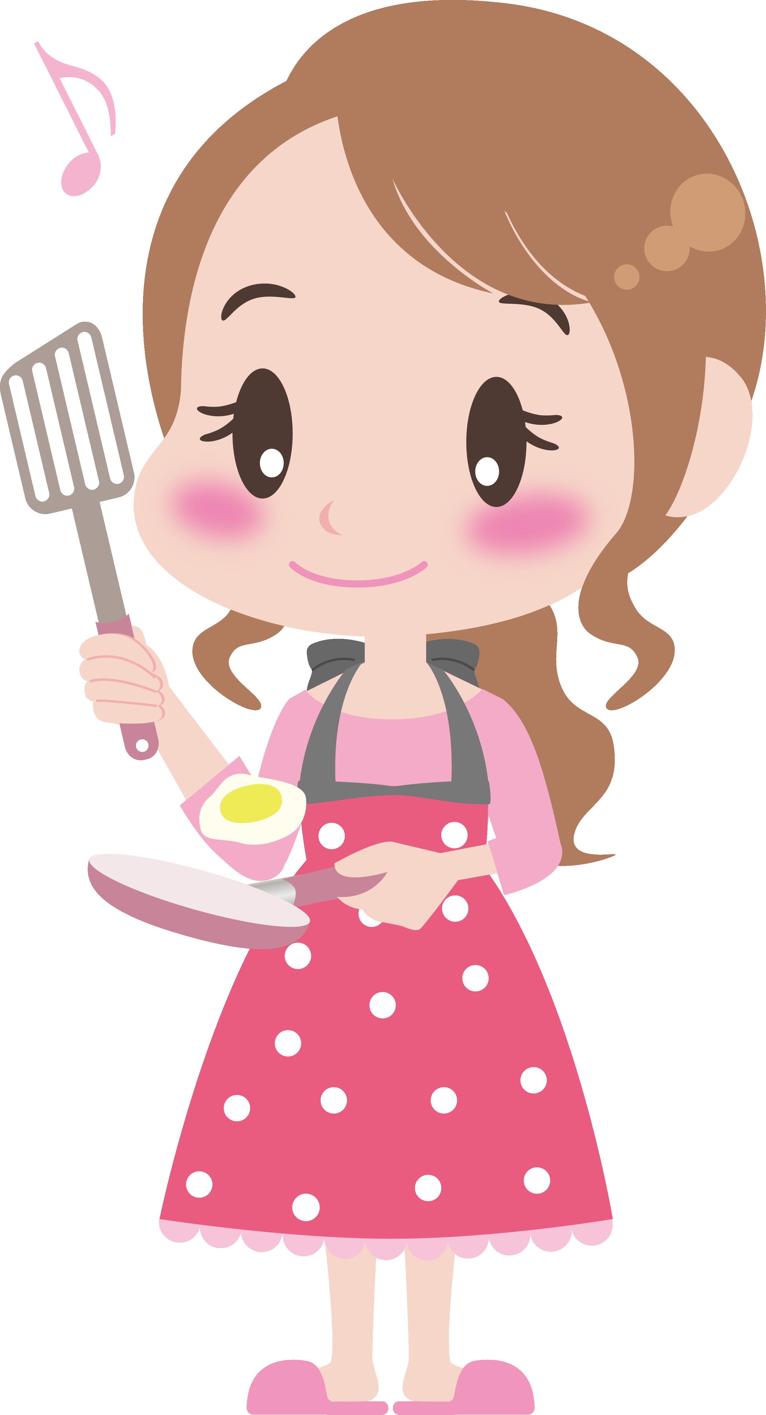 Cozinheiros A Copeiras E Etc Boneca Infantil Desenhos Infantis