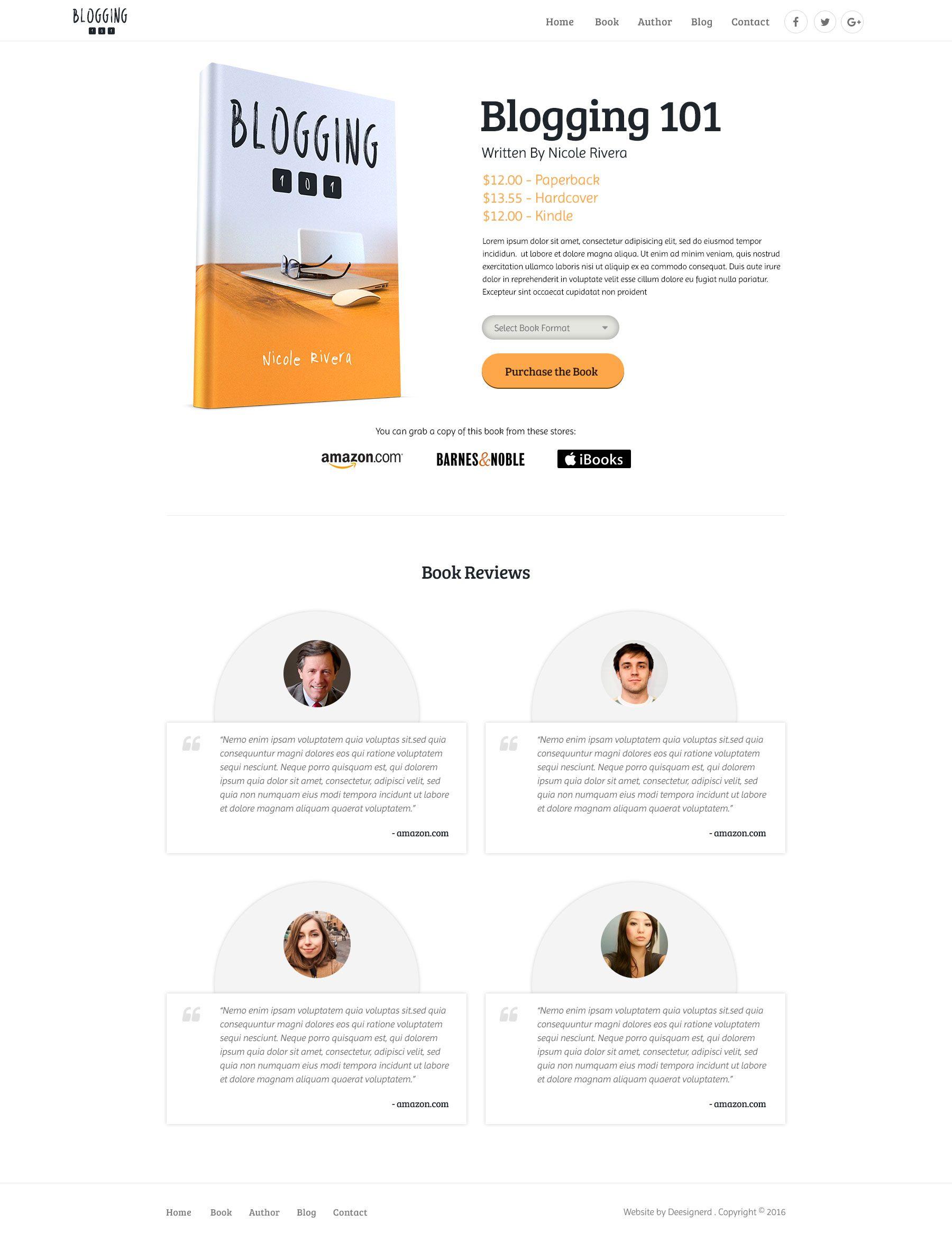 Single Book Page Webdesign Website Design Author Book Blogging Books Deesignerd Web Design Book Blog Website Design